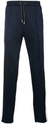 Burberry side stripe tailored joggers
