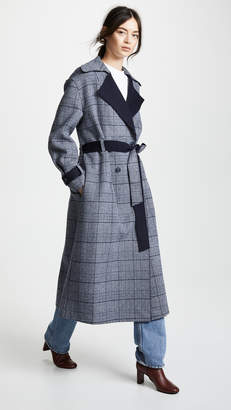 LEHA Check Coat