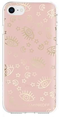 Rebecca Minkoff Metallic Galaxy Icon iPhone 7/8 & 7/8 Plus Case
