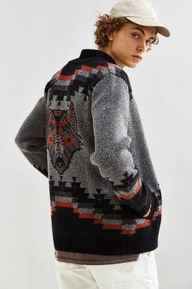 Urban Outfitters UO Patterned Shawl Cardigan $79 thestylecure.com