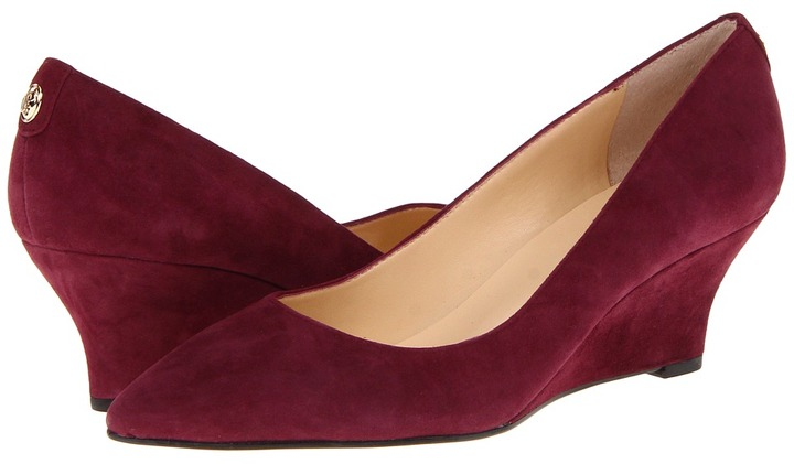Ivanka Trump Natale (Rich Berry Suede) - Footwear