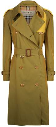 Burberry Knit Cotton Trench Coat