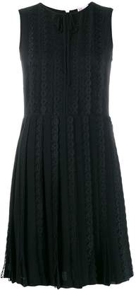 RED Valentino laced sleeveless dress