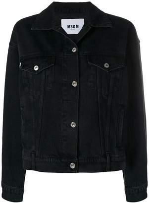 MSGM micrologo denim jacket
