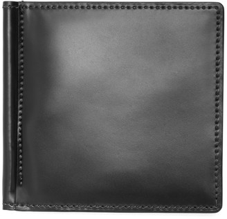 Brooks Brothers Cordovan Wallet with Money Clip