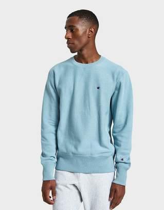 Champion Reverse Weave RW Crewneck Sweatshirt in Light Blue