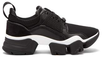 Givenchy Jaw Raised Sole Low Top Trainers - Womens - Black White