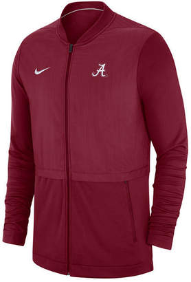Nike Men Alabama Crimson Tide Elite Hybrid Full-Zip Jacket