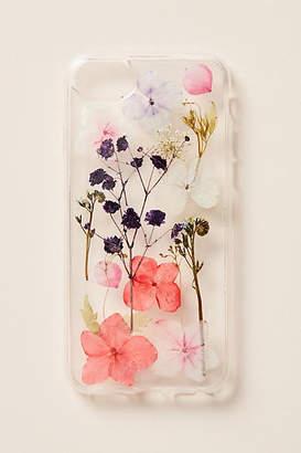 Anthropologie Pressed Flowers iPhone Case