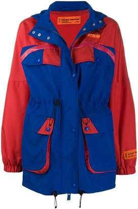 9f4083ee680f Heron Preston two-tone parka jacket