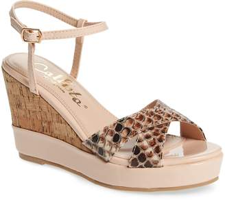 Callisto Lottie Platform Wedge Sandal