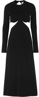 Dion Lee Cutout Cady Midi Dress - Black