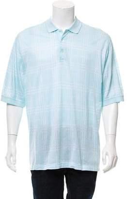 Burberry Golf Short Sleeve Polo Shirt