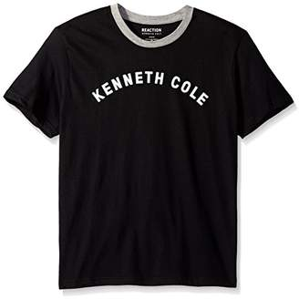 Kenneth Cole Reaction Men's Ringer Tee with Logo