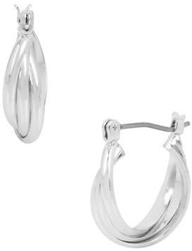 Kenneth Cole New York Trinity Rings Small Twisted Hoop Earrings