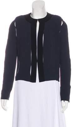 Lanvin Cutout-Accented Lightweight Jacket