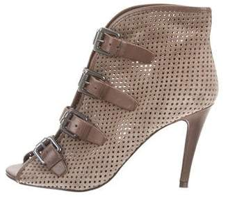 6057848380a5 Pre-Owned at TheRealReal · Ash Perforated Peep-Toe Booties