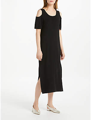 Oui Cold Shoulder Dress, Black