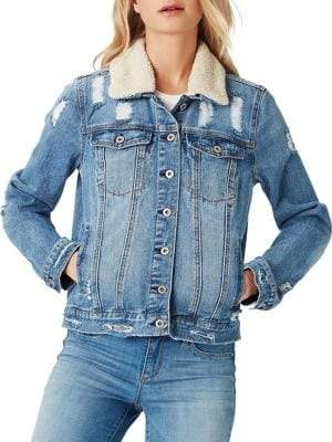 Jessica Simpson Sherpa Denim Jacket