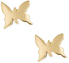 LANA GIRL BY LANA JEWELRY Girls' 14K Gold Butterfly Stud Earrings