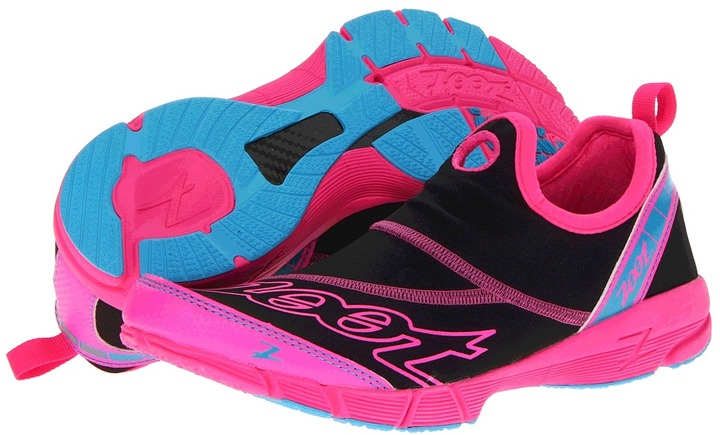Zoot Sports Ultra Speed 3.0 (Black/Pink Glow/Atomic Blue) - Footwear