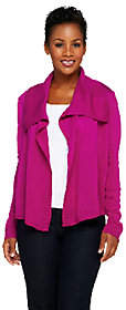 Joan Rivers Classics Collection Joan Rivers Sweater Knit Wrap Cardigan withLong Sleeves