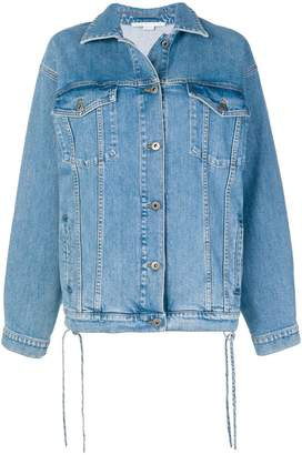 Stella McCartney long sleeved denim jacket