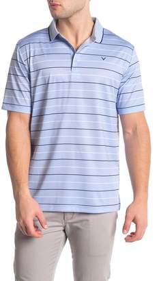 Callaway GOLF Printed Stripe Polo Shirt