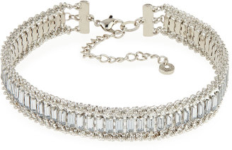 Lydell NYC Crystal & Rhinestone Choker Necklace $50 thestylecure.com