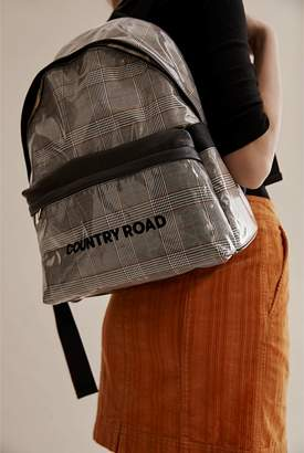 Country Road Coated Check Backpack