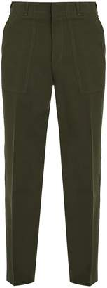 Stella McCartney Mid-rise straight-leg trousers