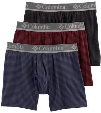 Columbia Coolkeep Men's CoolKeep 3-pack Performance Boxer Briefs