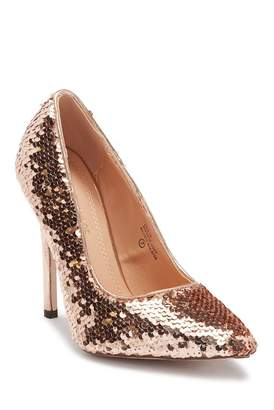 Chloé Chase & Lala Sequin Pump
