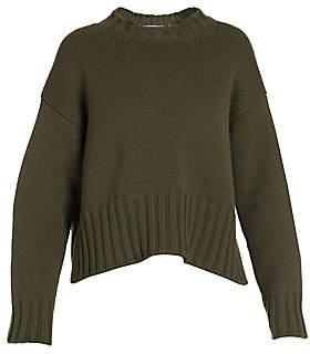 Prada Women's Ribbed Cashmere High-Low Sweater