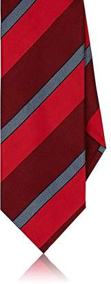 DolcePunta DOLCEPUNTA MEN'S WIDE-STRIPED SILK NECKTIE