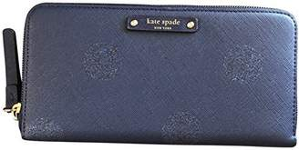 Kate Spade Haven Lane Glitter Neda zip Around Continental Wallet