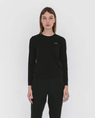Comme des Garcons Play Long Sleeve Black Heart