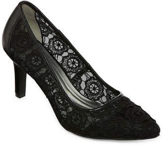 Andrew Geller Womens Twilla Pumps Slip-on Pointed Toe Stiletto Heel