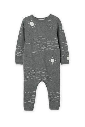 Country Road Unisex Bird Knit Jumpsuit