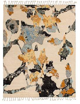 Grit & ground Moroccan Floral Area Rug, 9' x 12'