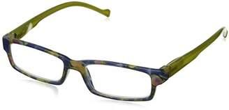 Peepers Unisex-Adult Eye-DEA 217175 Rectangular Reading Glasses