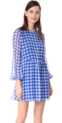 Diane von Furstenberg Check Mini Dress $348 thestylecure.com