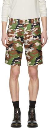 Landlord Multicolor Camo Plaid Shorts
