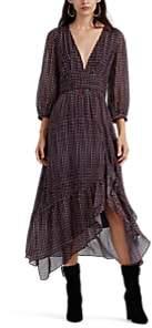 FiveSeventyFive Women's Geometric-Print Midi-Dress