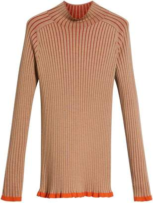 Burberry Silk Cashmere Turtleneck Sweater