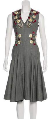Alexander McQueen 2017 Embroidered Dress w/ Tags