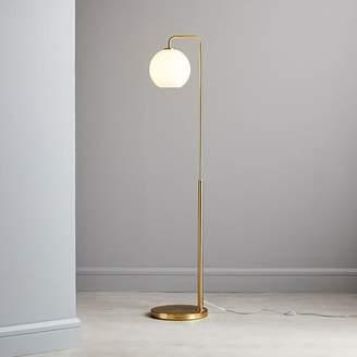 west elm Sculptural Glass Globe Floor Lamp