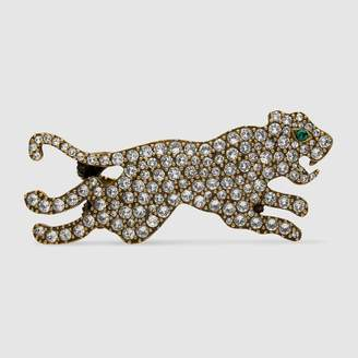 Gucci Multi-finger ring with tiger