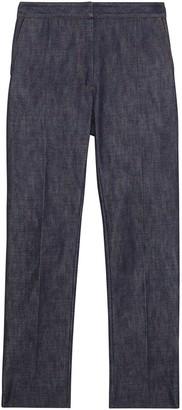 Burberry Straight Fit Monogram Motif Japanese Denim Jeans