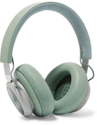 Bang & Olufsen - H4 Wireless Leather And Aluminium Headphones - Mint